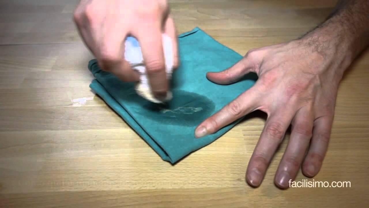 C mo quitar manchas de pegamento de la ropa facilisimo - Como quitar silicona ...