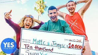GIVING STRANGERS $10,000 TO QUIT THEIR JOBS