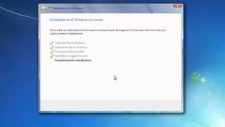 Installazione E Certificazione Di WINDOWS 7