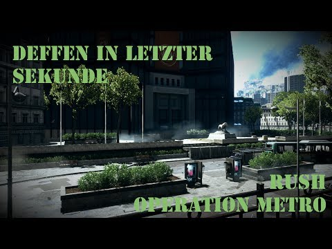 Battlefield 4 - Rush in der (Operation) Metro 2014 - Second Assault #004 [HD]