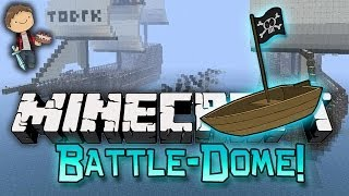 Minecraft: BATTLE-DOME w/Mitch & Friends Part 1 - BOAT WARS!