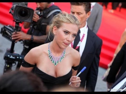 Scarlett Johansson on the Red Carpet - Under the Skin (70th Venice International Film Festival)