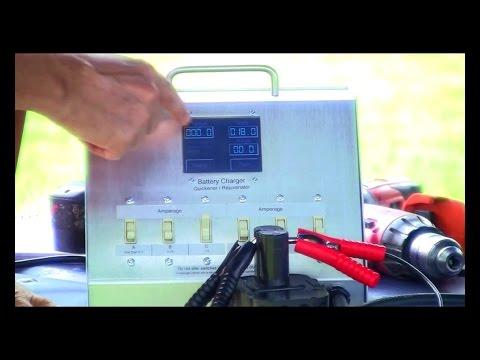 Fastest Battery Charger & Restorer (Live Demo 3)