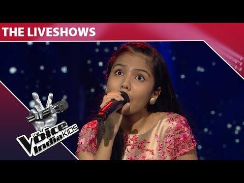 Shuriti Perform on Dil Ko Hazaar Baar - Episode 22 - Jan 21, 2018 - The Voice India Kids Season 2