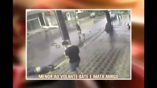 Adolescente inabilitado mata amigo em batida em Dores do Idai�; assista