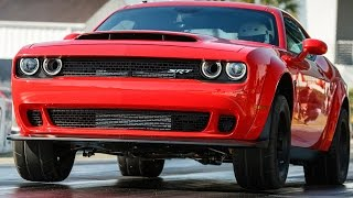 2018 Dodge Challenger SRT Demon (840-HP) Specs, Design, Driving [YOUCAR]. YouCar Car Reviews.
