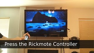 RickMote Controller - Hijacking TVs via Google Chromecast