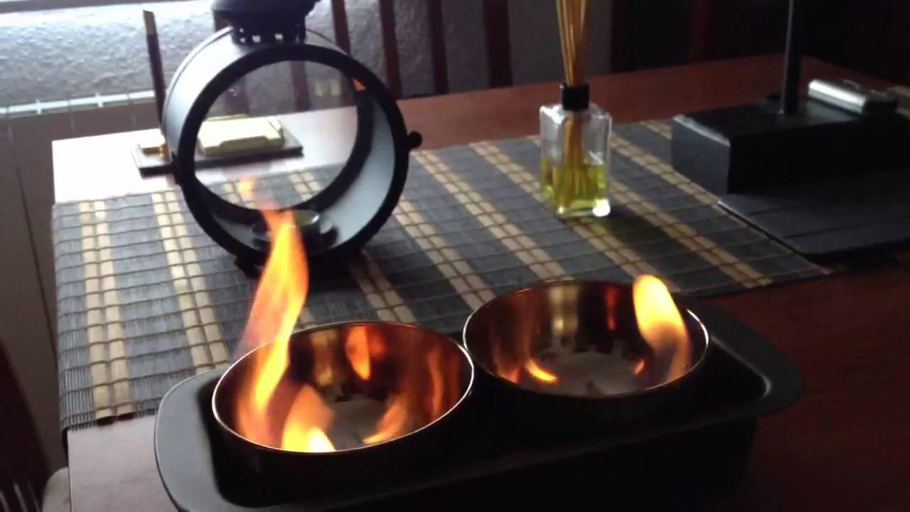Quemador casero de bioetanol youtube - Chimeneas de bioalcohol ...
