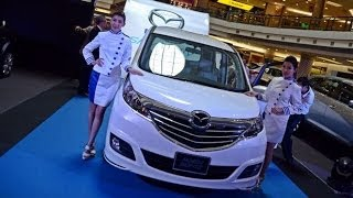 Mazda Biante SkyActiv-G 2.0 CBU Malaysia Interior Exterior Walk Around