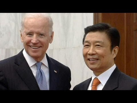 US Vice President Biden meets with Chinese Premier on last day of Beijing visit