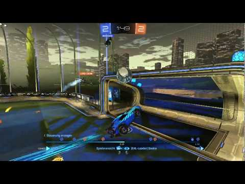Rocket League 2vs2 #001 [Skills, Mistakes and Fails]