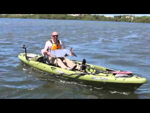 Tarpon fishing in Puerto Rico with Jackson Kayak