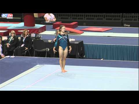 Jennifer Pinches - Seniors - Floor - App Finals - BRONZE