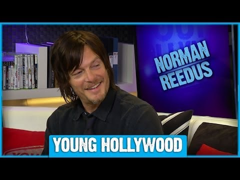 "Norman Reedus on ""The Walking Dead"" Zombie School"
