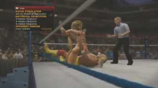 WWE 2K14 Hulk Hogan Vs The Ultimate Warrior 30 Years Of
