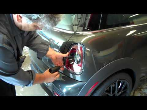 How to replace the Tail Lights with the Black Line Tail lights on a 2012 Mini Cooper JWC