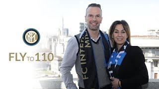 Inter Club | FLY TO 110 | An interview with Katia and Lorenzo