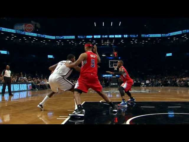 Joe Johnson Drops Jumpers Against the Clippers