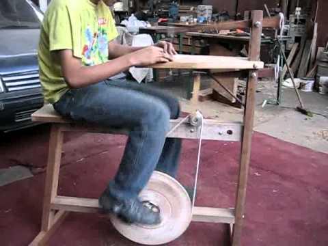 Caladora manual para madera