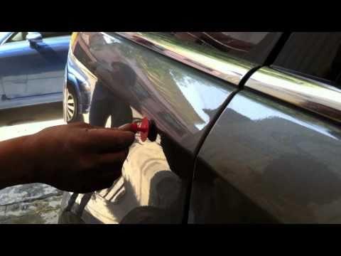 Hình ảnh trong video Elimina abolladuras de tu auto en minutos en