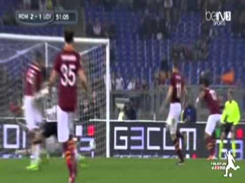 AS Roma Vs Udinese 3-2 All Goals 17.03.2014