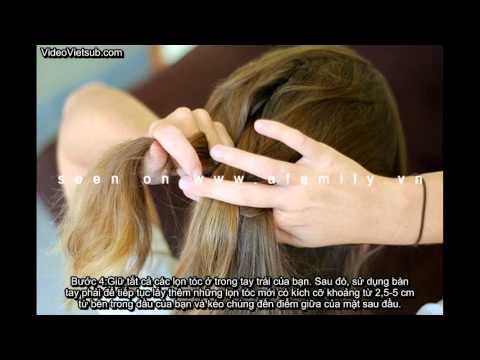 Tết tóc đuôi Sam kiểu Hà Lan như Ngọc Trinh