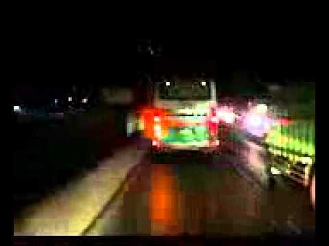 perjalanan malam bus BGS TRANS hajarrr........