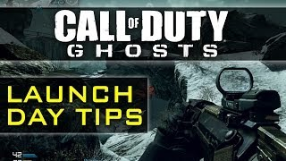 CoD Ghosts Multiplayer Gameplay - Launch Day Tips & Tricks