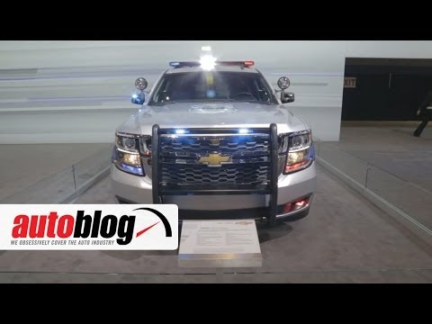 2015 Chevrolet Tahoe Police Pursuit Vehicle: 2014 Chicago Auto Show