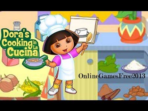 Dora The Explorer Game Dora Online Games Free Dora Cooking Games For Kids - Lets cook GALLETAS!