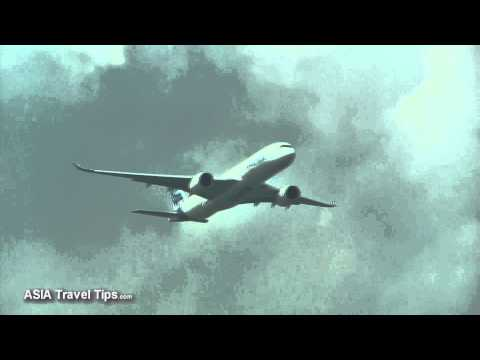 Airbus A350 900 XWB Flying Display Practice at Singapore Airshow 2014 - HD