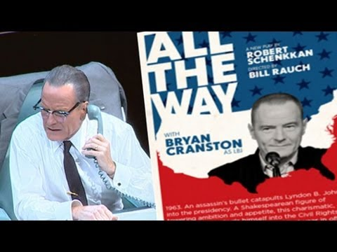AMC's 'Breaking Bad' Star, Bryan Cranston, as LBJ: 'This Week' Sunday Spotlight