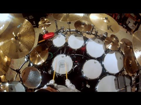 GoPro: Dave Matthews Band's Carter Beauford Drum Solo