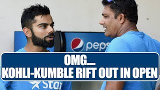 ICC Champions Trophy: Virat Kohli and Anil Kumble rift out..