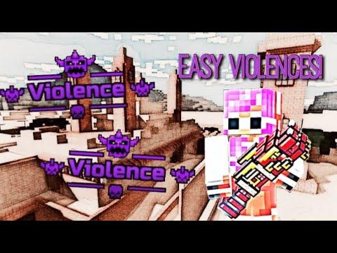 EASY *VIOLENCE* KILL STREAK in Pixel Gun 3D | BEST METHOD | 3 Category Spam