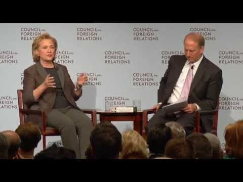 Hillary Clinton Takes a Jab at Vladimir Putin