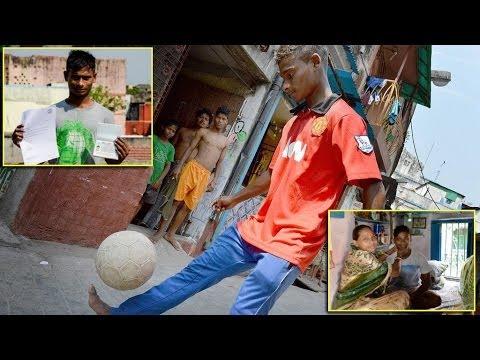 Slumdog Striker Rajib Roy : From Red light district of Kolkata to train with Manchester United