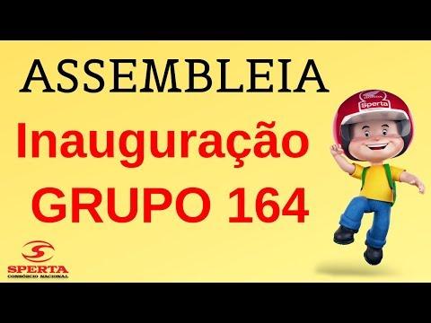 Sperta Consórcio - Assembleia - Inauguração GRUPO 164 - 16/02/2019