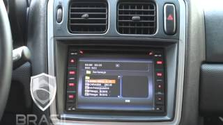 Central Multimidia Kit Original Dvd Mitsubishi Pajero TR4