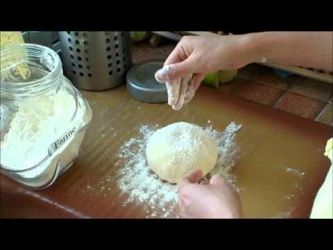 Bánh mì vỏ giòn cách nhào bột bằng tay