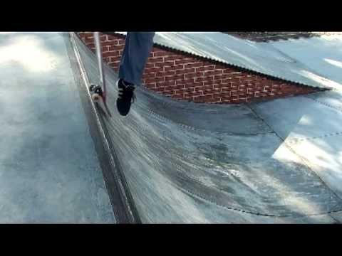 M S R Skatepark Montilla  Truco del dia