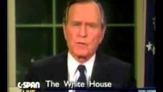 George H. W. Bush New World Order Quotes