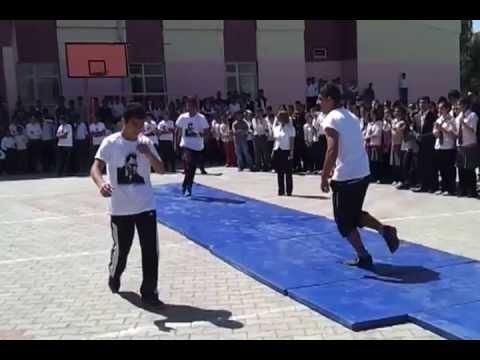 Mardin Savur Nuri Cıngıllıoğlu Lisesi 19 Mayıs 2013 Jimnastik Gösterisi