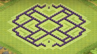 Clash Of Clans Best Town Hall 8 Farming Base 2014
