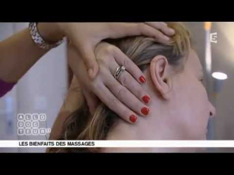 Séance de massage chez un Kinésithérapeute