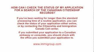 How Can I Check The Status Of My Application For A Search