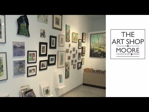 The Art Shop at Moore College of Art & Design