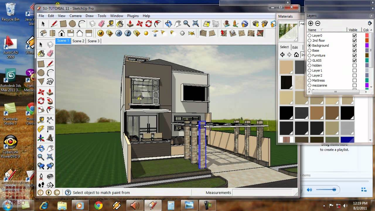 google sketchup 2015 tutorial