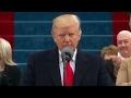 Trumps inaugural speech targets forgotten citizens