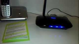 Straight Talk Home Phone Service Unboxing And Review $